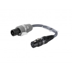 Sommer Cable - Adaptercable XLR(F)/Speakon NL2FC 0.15m 1