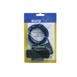 Eurolite - EL Wire 2mm, 2m, blue 1