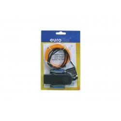 Eurolite - EL Wire 2mm, 2m, orange 1