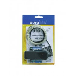 Eurolite - EL Wire 2mm, 2m, white, 6400K 1