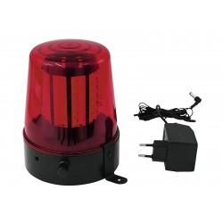 Eurolite - LED Police Light 108 LEDs red Classic