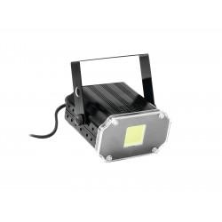 Eurolite - LED Disco Strobe COB white, sound