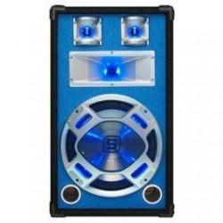 """Skytec - Baffle 12""""/30cm 600W LED azules."""