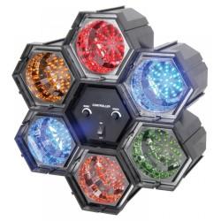 Skytec - Efecto de luz LED con 6 modulos interconexionables