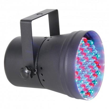 Skytec - Par 36 Spot 55 RGB LEDs DMX