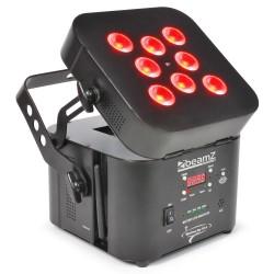 Skytec - Wi-Par 8x 3W Tri-color LEDs MX