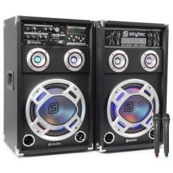 "Skytec - SPD-8V Conjunto Activo 8"" USB VHF"