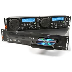 Skytec - PDX115 Doble Reproductor CD/SD/USB/MP3