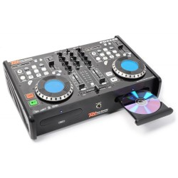 Skytec - PDX125 Reproductor Doble CD/SD/USB/MP3