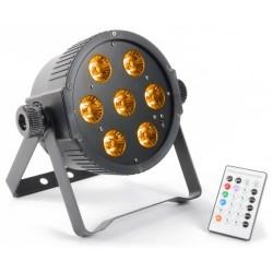 Skytec - Foco PAR Plano 7x 15W RGBAW LEDs DMX IR