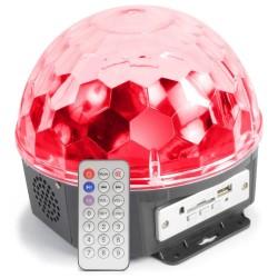 Skytec - Magic Jelly DJ Ball al ritmo de la musica 6x 1W LED con reproductor MP3