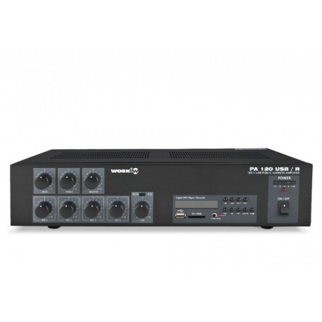 Work - PA 120 USB/R