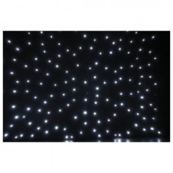 Showtec - Stardrape White LED 2x3m