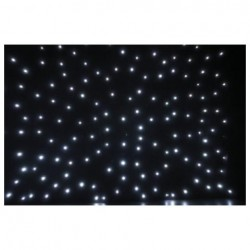 Showtec - Stardrape White LED 3x6m