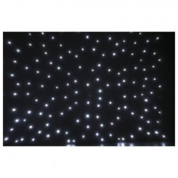 Showtec - Stardrape White LED 4x6m
