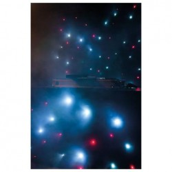 Showtec - Stardrape DJ Curtain Set 2x3m &