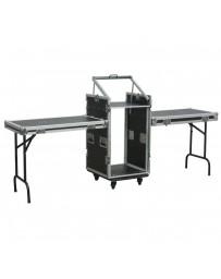 """Skytec - PD-F16U10T 19"""" Rack con montaje como mesa"""