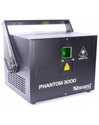 Skytec - Phantom 3000 Laser de Diodo Puro RGB Analogico 40kpps FC