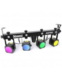 Skytec - LED ASTRO PARBAR 4 Vias 4x 20W COB DMX