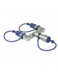 Showtec - CO2 3/8 Q-Lock 2-way combiner