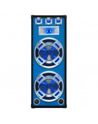 Skytec - Baffle 2x 15 - 38cm 1000W LED azules.