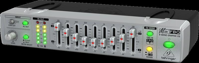 Behringer - FBQ-800 - Equalizers | Z-Bombilla