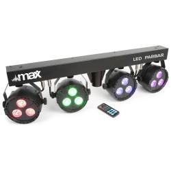 Skytec - LED PARBAR 4 focos 3x 4-1 RGBW