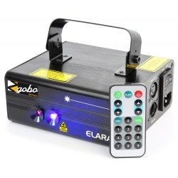 BeamZ - Elara Doble Laser 300mW RB Gobo