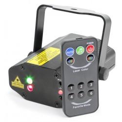 BeamZ - Titania Doble Laser 200mW RG Gobo IRC