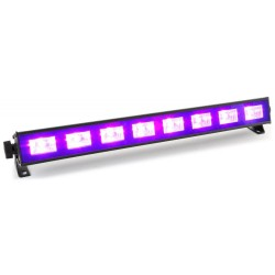 BeamZ - BUV93 Barra de LED 8x3W UV 1