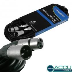 Accu-cable - AC-PRO-XMXF/5 XLR m/f 5m