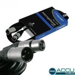Accu-cable - AC-PRO-XMXF/3 XLR m/f 3m