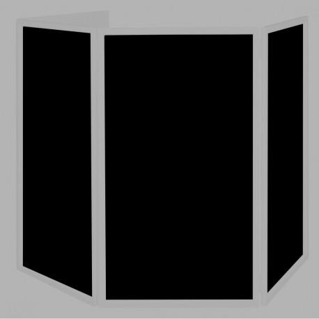 American Dj - Event Facade scrims (4pcs) black 1
