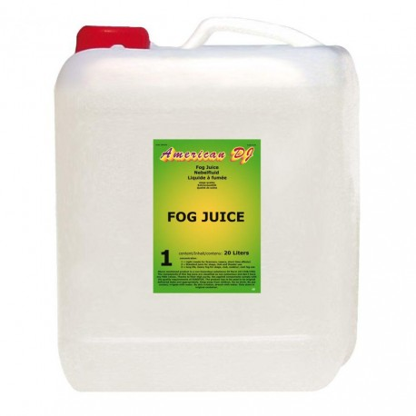 American Dj - Fog juice 1 light 20 Liter