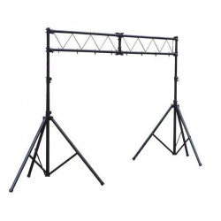Showtec - Dos soportes con truss 1