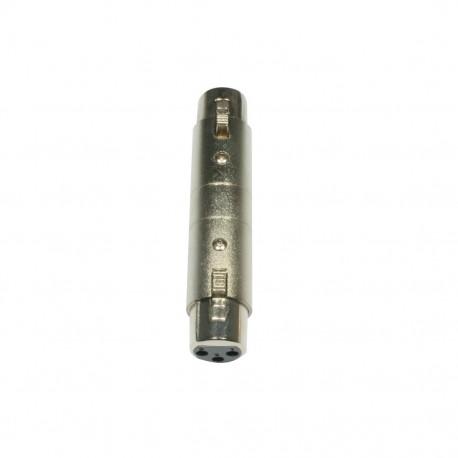 Accu-cable - AC-A-XF3/XF3 XLR 3pol F-XLR 3pol F 1