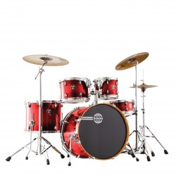 Dixon - FS522 FUSE MAPLE Gloss Candy Red