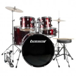 Ludwig - ACCENT FUSE LC170 en Red