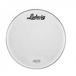 "Ludwig - LW4320 20"" White Coated Front"