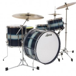Ludwig - CLUB DATE USA DOWNBEAT L6103LX Vintage Blue/Silver Duco