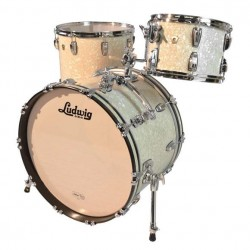 Ludwig - CLASSIC MAPLE DOWNBEAT L8303AX NM Vintage White Marine Pearl