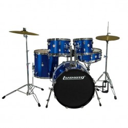 Ludwig - ACCENT FUSE LC170 en Blue