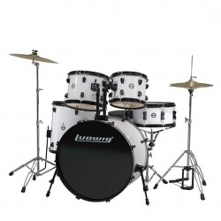 Ludwig - ACCENT DRIVER LC175 en White