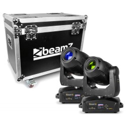 BeamZ - IGNITE180 Cabeza Movil Spot LED 2pcs en Flightcase