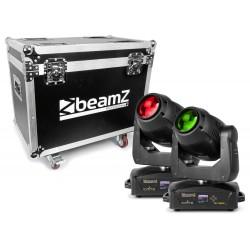 BeamZ - IGNITE150B Cabeza Movil LED Beam 2pcs en Flightcase 1