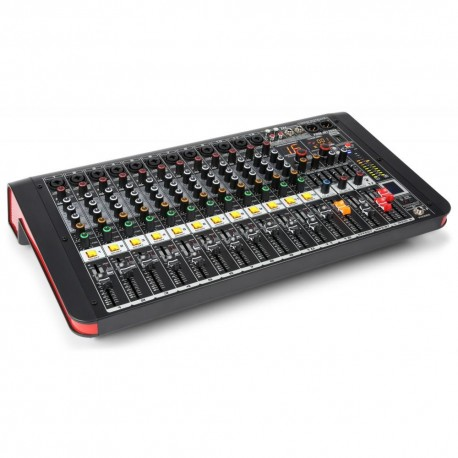 Powerdynamics - PDM-M1204A Mezclador directo amplificado 12 canales 1