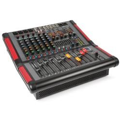 Powerdynamics - PDM-S804A Mezclador amplificado de escenario 8 canales 1
