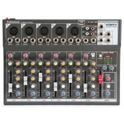 Vonyx - VMM-F701 Mezclador Musico 7 canales 1