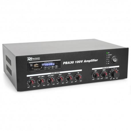 Powerdynamics - PBA30 Amplificador linea 100V 30W  952.090 1