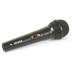 Fenton - Microfono, dinamico, 600 Ohms, cable integrado - negro 173.126 1